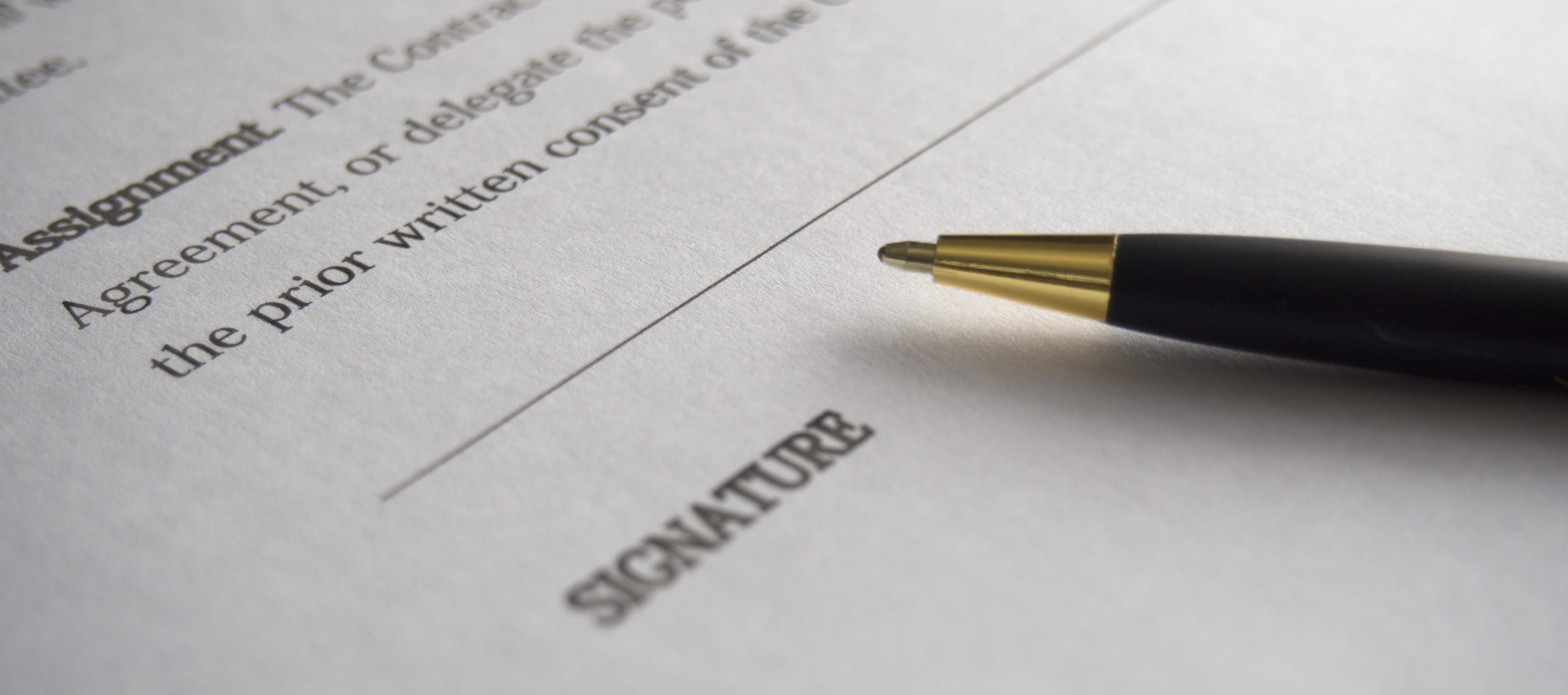 How can one signature put you at financial risk?